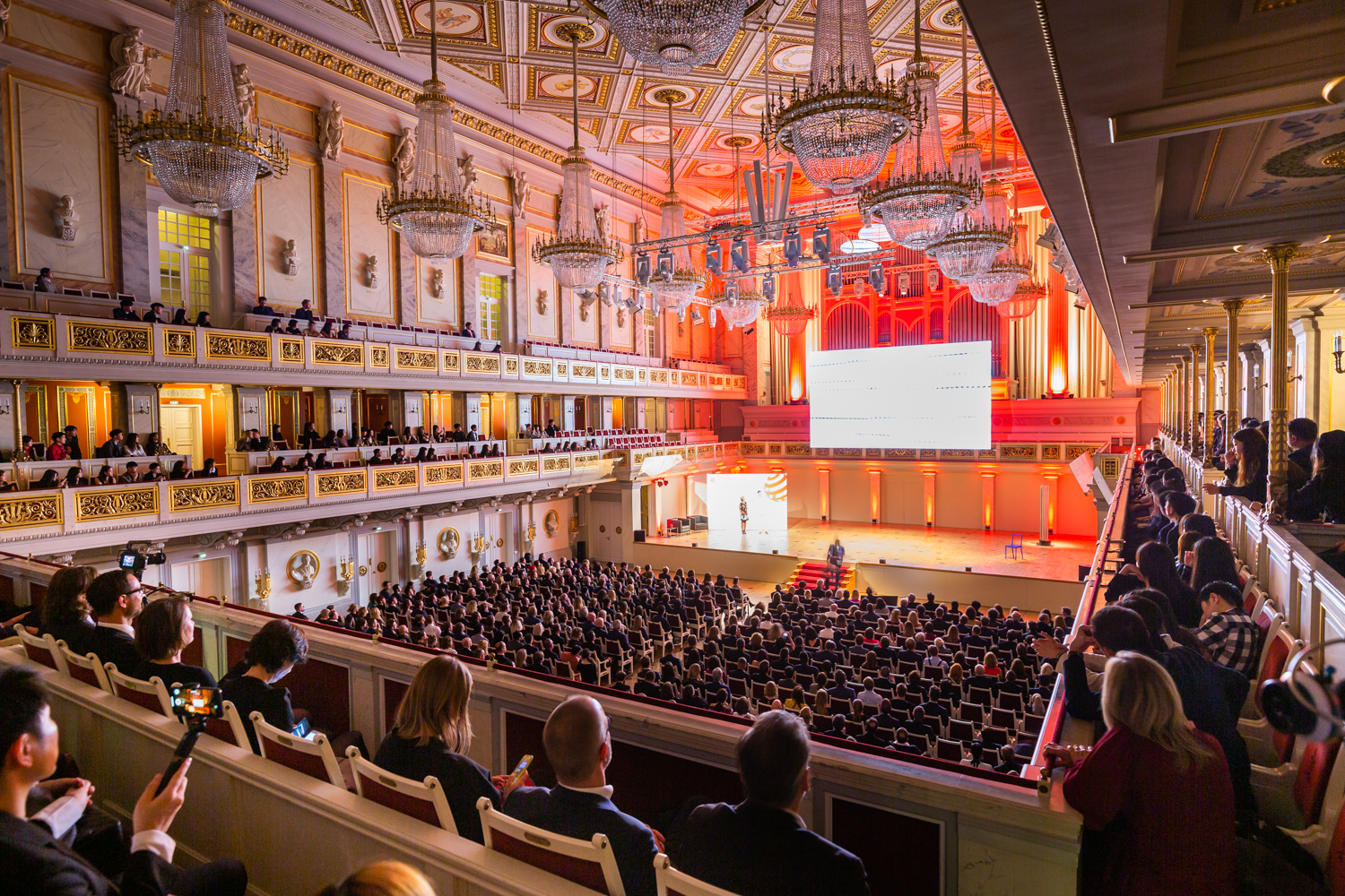 Verleihung des Red Dot Award 2019: Brands & Communication Design bei der Red Dot Gala im Berliner Konzerthaus am 1. November 2019