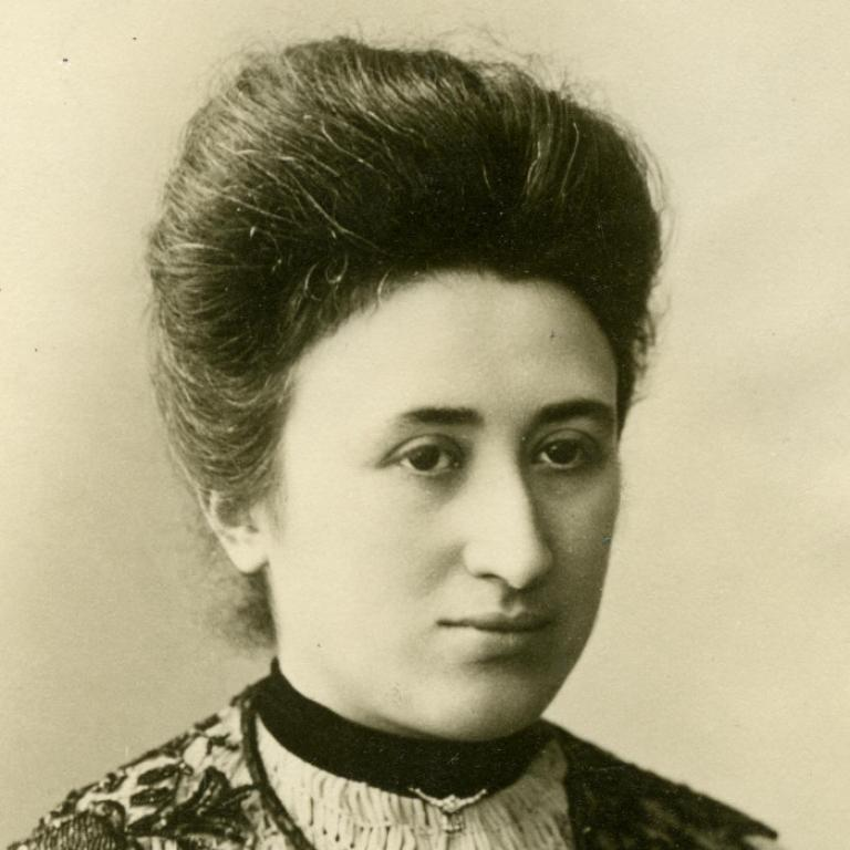 Rosa Luxemburg Digitales Deutsches Frauenarchiv